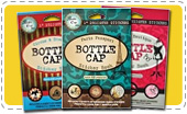 Bottle Cap Sticker Books