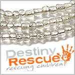 Destiny Rescue Triple Strand Necklaces