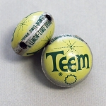 Teem Horizontal Drill Bottle Cap Bead