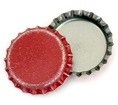 Distressed red bottle caps at bottle cap co for How to use bottle caps