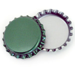 Green Bottle Caps Standard