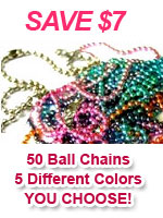 "20"" Ball Chain Necklace Discount Package"