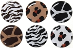 Epoxy Sticker, Animal Print