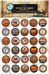Hoops Star Bottle Cap Images - Printed