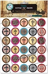 Crosses Bottle Cap Images - Printed