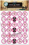 Go Pink Bottle Cap Images - Printed