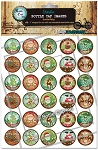 Santa Baby Bottle Cap Images -Printed