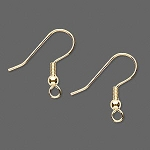 Plated Fishook Earring - Gold