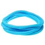 Nylon Choker Necklace - Bright Blue