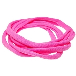 Nylon Choker Necklace - Hot Pink