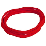 Nylon Choker Necklace - Red