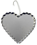 Jumbo Heart Cap Ornaments