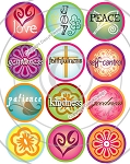 Bottle Cap Images - Fruits of the Spirit