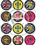 Bottle Cap Images - Funky Cross