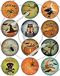 Bottle Cap Images - Halloween Craze