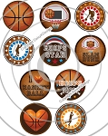 Bottle Cap Images Basketball Star