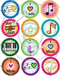 Bottle Cap Images - I Love Music