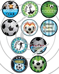 Bottle Cap Images Soccer Star