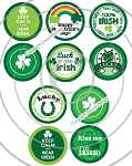 Bottle Cap Images -St Patrick's Day