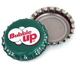 Vintage Bottle Caps, Bubble Up