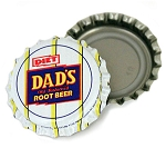 Vintage Bottle Caps, Dad's Diet Root Beer