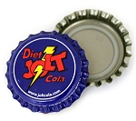Vintage Bottle Caps, Jolt - Diet
