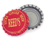Vintage Bottle Caps, Reed's - Extra Ginger Brew