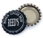 Vintage Bottle Caps, Reed's - Premium Ginger Brew