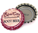 Vintage Bottle Caps - River City Root Beer