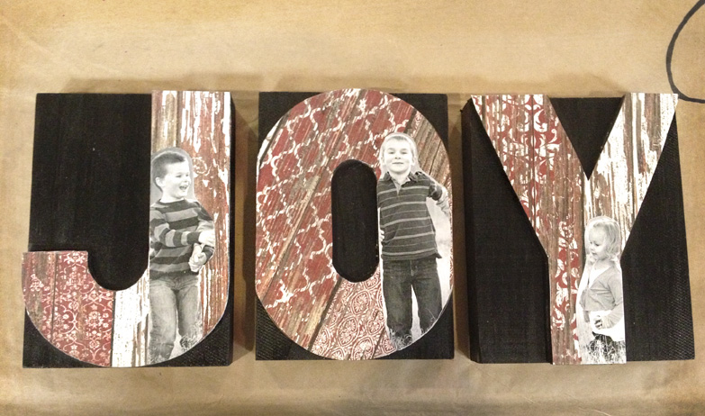 Wood Craft And Letter Press Block Home Decor Ideas And DIY