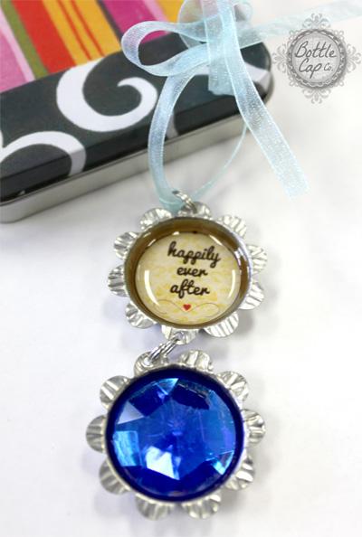 Bottle Cap Handmade Personalized Wedding Favor Ideas