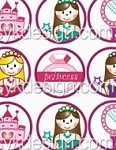 Bottle Cap Images - Princess Accessories