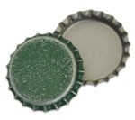 Distressed Green Bottle Caps Standard
