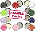 Sample Multi-Pack Distressed Bottle Caps