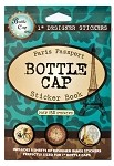 Bottle Cap Sticker Book -Paris Passport