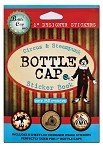 Bottle Cap Sticker Book -Circus Steampunk