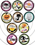 Bottle Cap Images -Kids Halloween