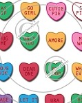 Bottle Cap Images -Sweethearts