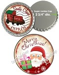 Bottle Cap Images - Super Jumbo Christmas