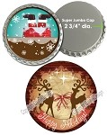 Bottle Cap Images - Super Jumbo Christmas 2