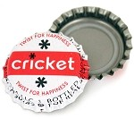 Vintage Bottle Caps, Cricket
