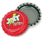 Vintage Bottle Caps, Jolt - Red Eye