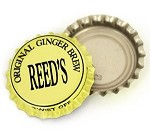 Vintage Bottle Caps, Reed's - Original Ginger Brew