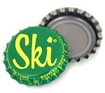 Vintage Bottle Caps, Ski