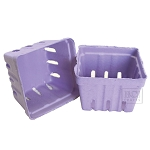 Berry Baskets - Purple 10pc