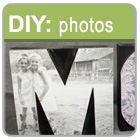 Turn your letter press blocks into photo decor!