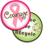 Fight For A Cause Bottle Cap Images