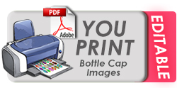 Bottle Cap Image Digital PDF Download