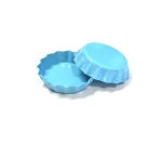 Mini Light Blue Bottle Caps