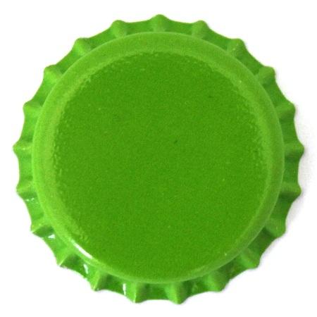 Lime Green Bottle Caps At Bottle Cap Co